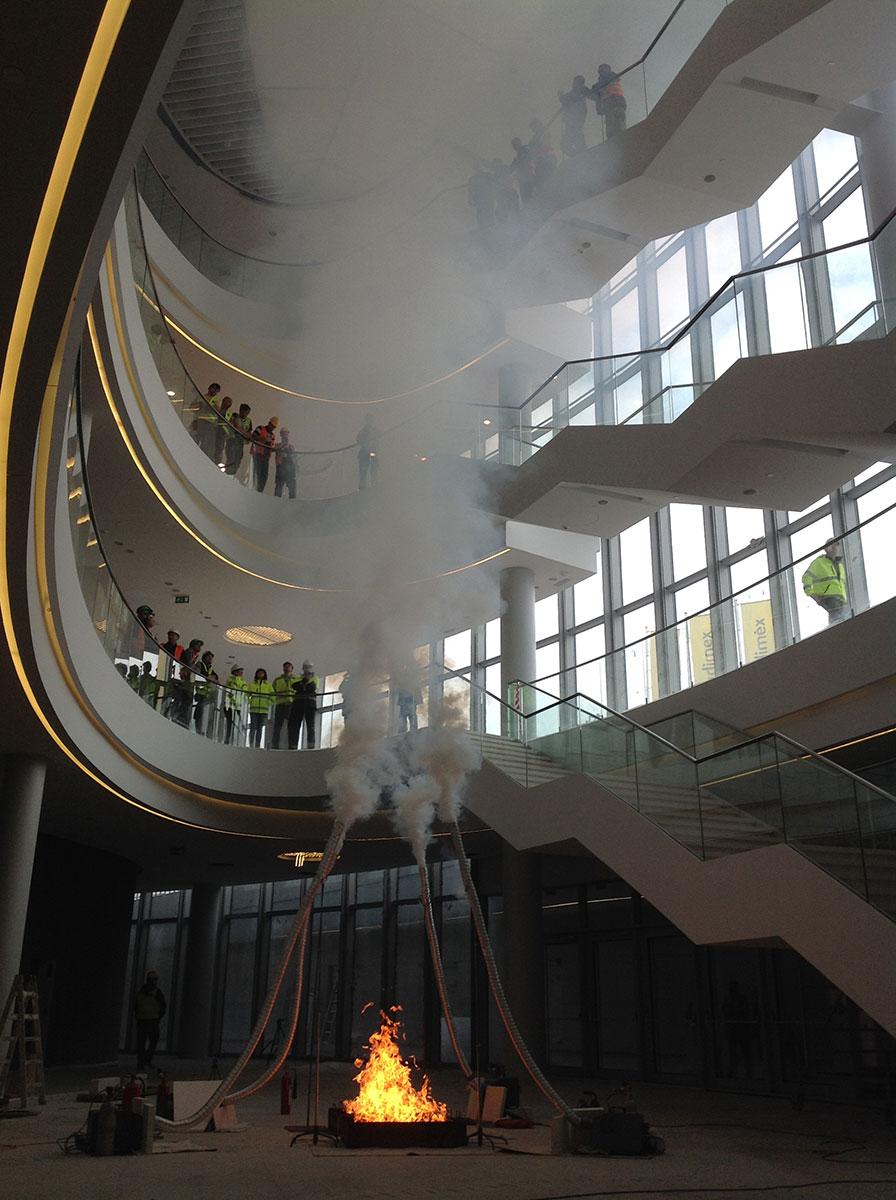 Próby dymowe w Krakowie