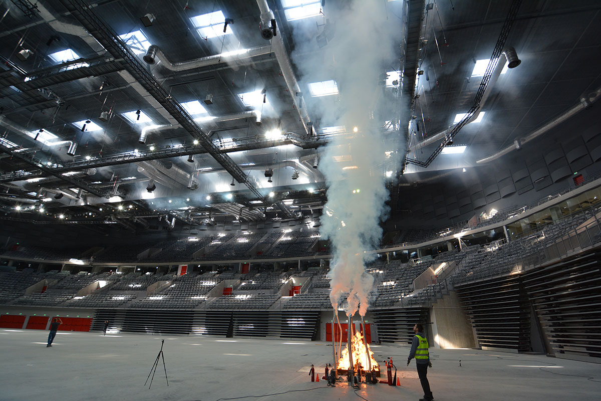 Próba dymowa w Gliwicach