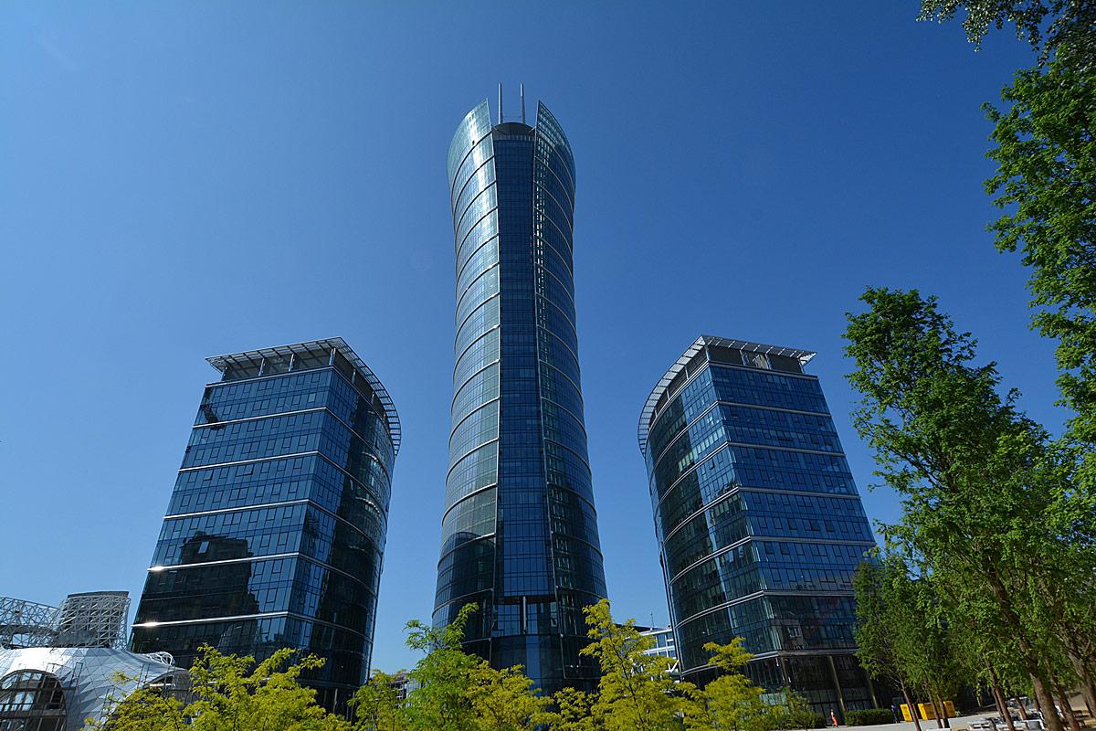Budowa kompleksu Warsaw Spire zakończona