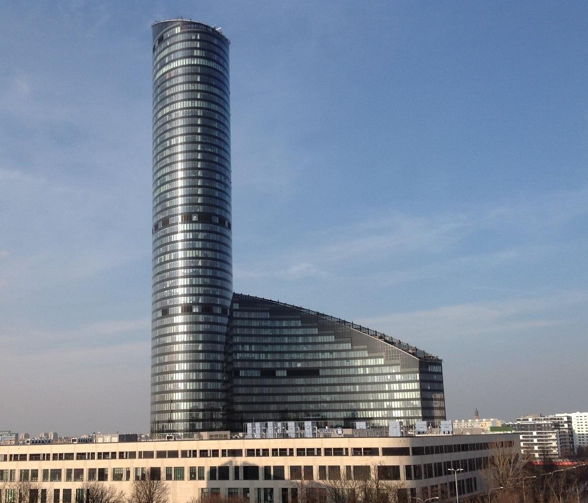 Próbna ewakuacja budynku Sky Tower